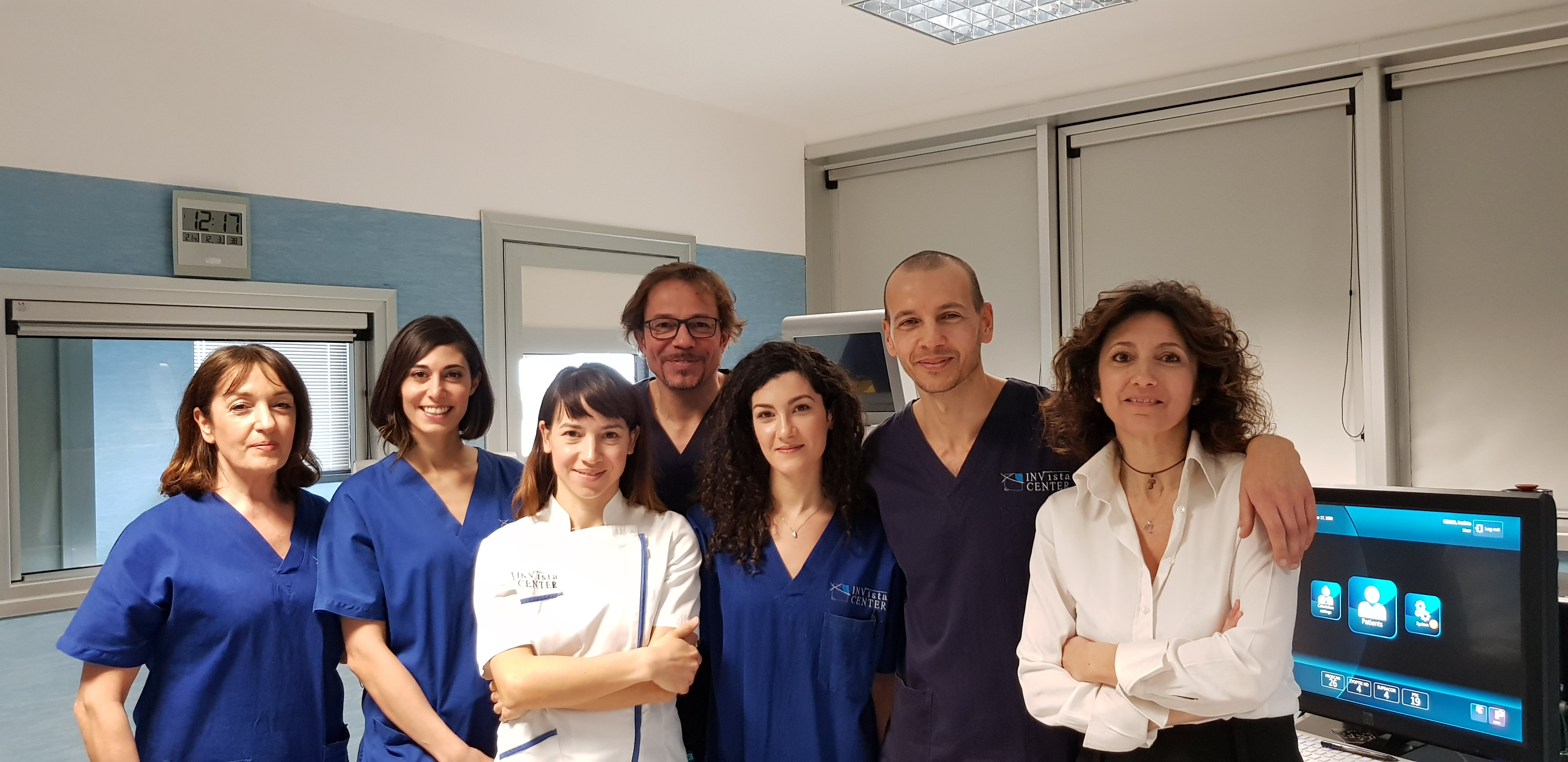 Staff centro oculistico Invista Center