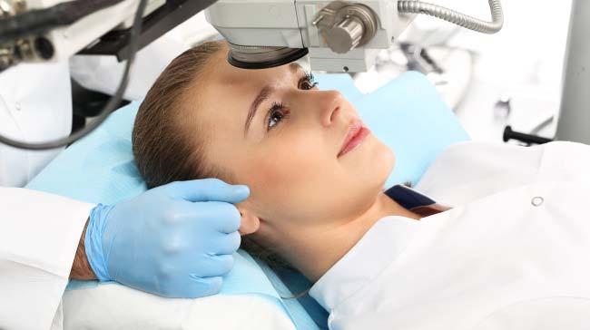 Incisioni arcuate occhi e trattamenti laser occhi Roma