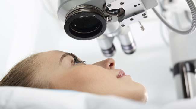 Chirurgia oculistica con trattamento laser Roma